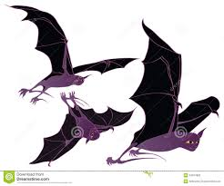 halloween bat flying stock photos image 34347883