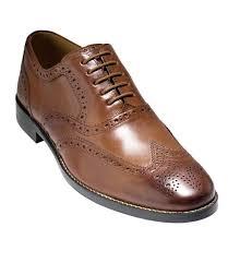 Tan Republic Bend Oregon Cambridge Wing Oxford Shoe By Cole Haan Cole Haan Jos A Bank