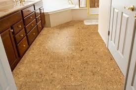 cork flooring in bathroom trellischicago