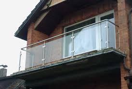 balkon edelstahlgel nder aus edelstahl und glas edelstahlgeländer