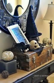rustic halloween decor craft o maniac
