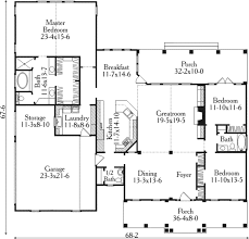 colonial style house plan 3 beds 2 50 baths 2424 sq ft plan 406 276