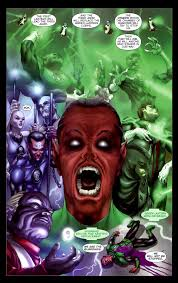 off my mind how the third army will change the green lantern