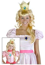 Video Game Halloween Costumes Video Game Princess Wig Visioncon Costumes Wig