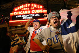 Chicago Cubs Map by Cubs Fans Celebrate Nlds Win In Wrigleyville Chicago Tribune