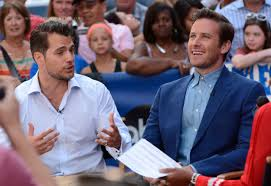 Robin Henry Cavill And Armie Hammer At The Good Morning America