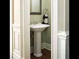 small half bathroom design half bathroom design ideas youtube