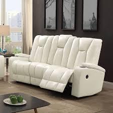 White Reclining Sofa G658 Power Reclining Sofa White Reclining Sofas Living Room