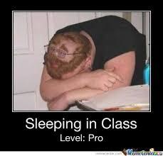 Sleeping In Meme - sleeping in class by atachi13 meme center