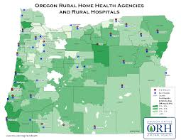 Oregon County Map by Oregon Resources Rural Health Information Hub