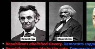 democrats vs republicans on dealing with racism meme