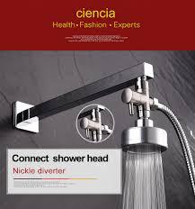 free shipping brass 3 way diverter valve for handheld shower head