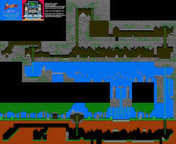 Amazon Maps Duck Tales The Amazon Nintendo Nes Map Bg