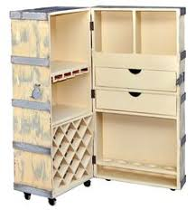 who was in washington s cabinet one of a kind wine storage cabinet made with a vintage steamer trunk