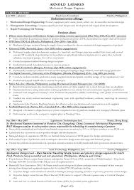 standard resume format for engineers standard resume format pdf
