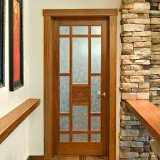 Interior Door Styles For Homes by 3 Panel Glass Interior Door Picture On Creative Home Design Style