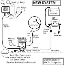 upgrade hei to direct battery power using relay includes diagram