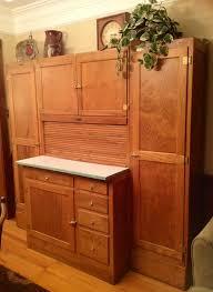 seller u0027s hoosier cabinet with side cabinets sellers hoosier