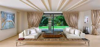 designs ideas low ceiling luxury living room with white sofa and