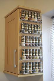 ideas mesmerizing wall mount wall spice rack with fancy tall