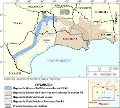 Panhandle Florida Map by Usgs Haynesville Bossier Gas Resources Largest Ever Examined