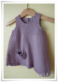 eco baby picot dress by debbie bliss click clack pinterest