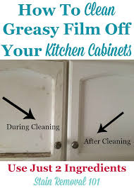 how to clean tough grease on kitchen cabinets clean kitchen cabinets with these tips and hints