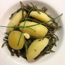 cuisiner la salicorne recette pommes de terre et salicornes magazine omnicuiseur