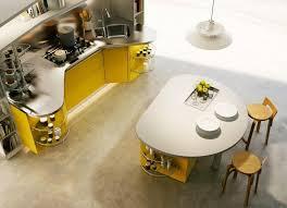 kitchen spectacular italian kitchen round kitchen island yellow