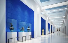 Blue Interior Design Blue And White Interior Design