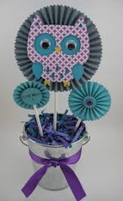 owl centerpieces pin by dorita on baby shower birthday