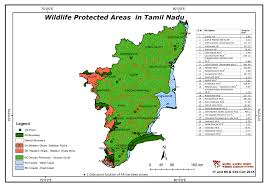 Kerala India Map by Maps Of Protected Areas In India