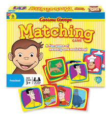 curious george matching game puzzlewarehouse