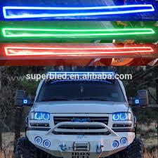 multi color led light bar gmc top light 1223mm 5050smd rgb led light bar 12v buy led light