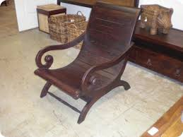 all wood plantation chair south seas trading