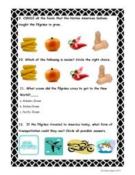 thanksgiving test free 6 pages by johana zegarra tpt