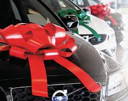 large gift bow car bow etsy