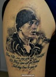 my eminem tattoo love peace shady u003c3 eminem pinterest