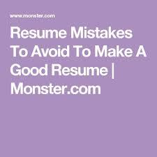 posting resume on monster best 20 good resume objectives ideas on pinterest resume career
