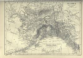Alaska Map Images by Alaska Map Reusableart Com