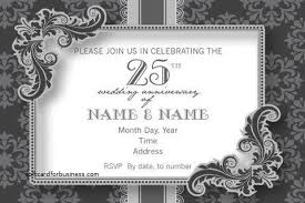 wedding invitation unique 10th wedding anniversary party