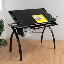Drafting Craft Table Studio Designs Futura Drafting And Craft Table Color Black Frame