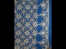 Crochet Curtain Designs A Lace Curtain In Crochet Lace Youtube