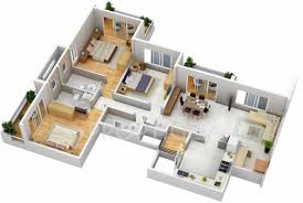 1650 sq ft 3 bhk floor plan image maruti group the iconic living