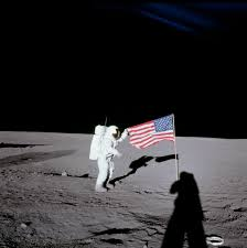 Moon Flag From Earth Apolloflags Apollo Flag Site Showing Flags Are Still Aloft