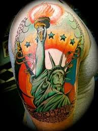 art sci patriotic new york tattoos
