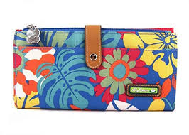 bloom wallet bloom large travel wallet tiki bar at women s clothing