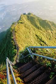 Hawaii Haiku Stairs by Top 10 Things To Do In Oahu