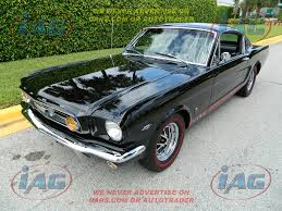 Black 1967 Mustang Fastback Ford For Sale