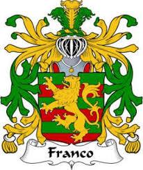 franco family crest heraldic jewelry
